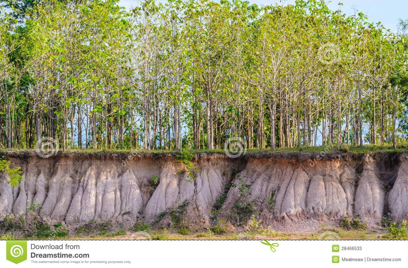 Earth Cross Section Stock Image Image Of Below Layers