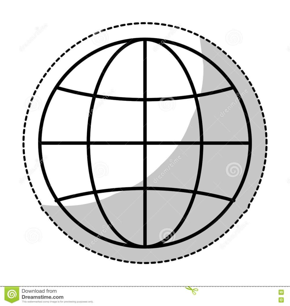 medium resolution of earth globe diagram icon image