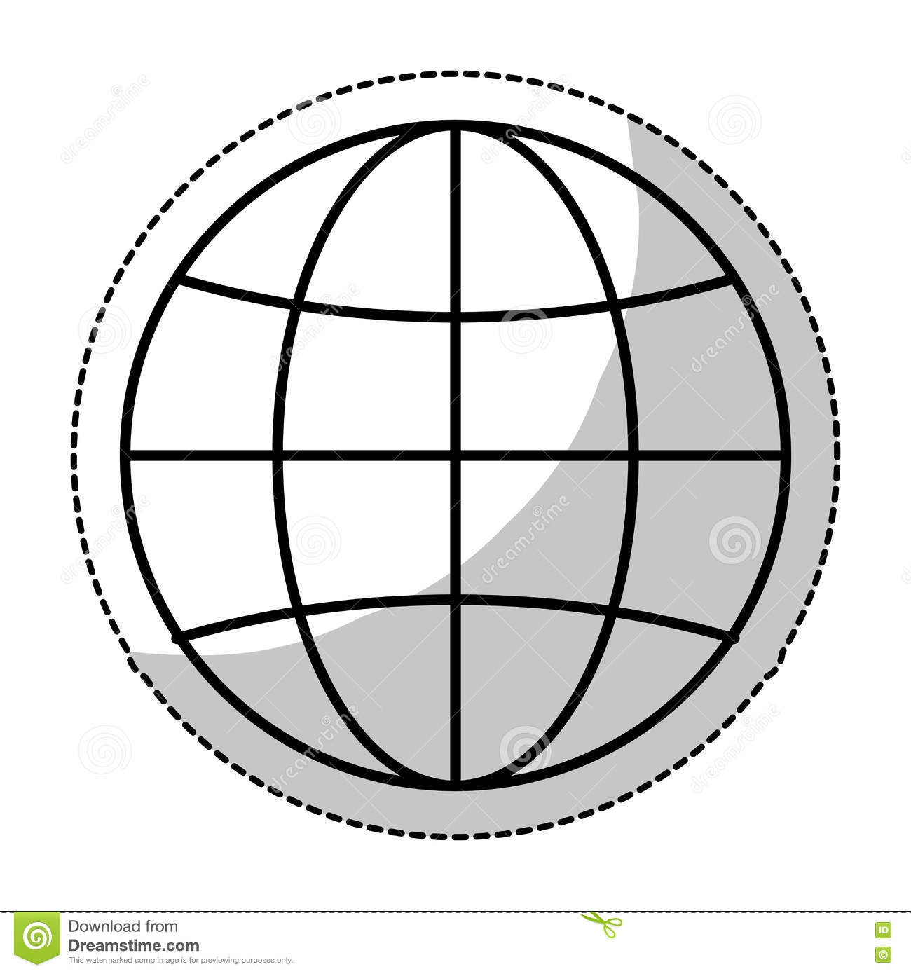 hight resolution of earth globe diagram icon image