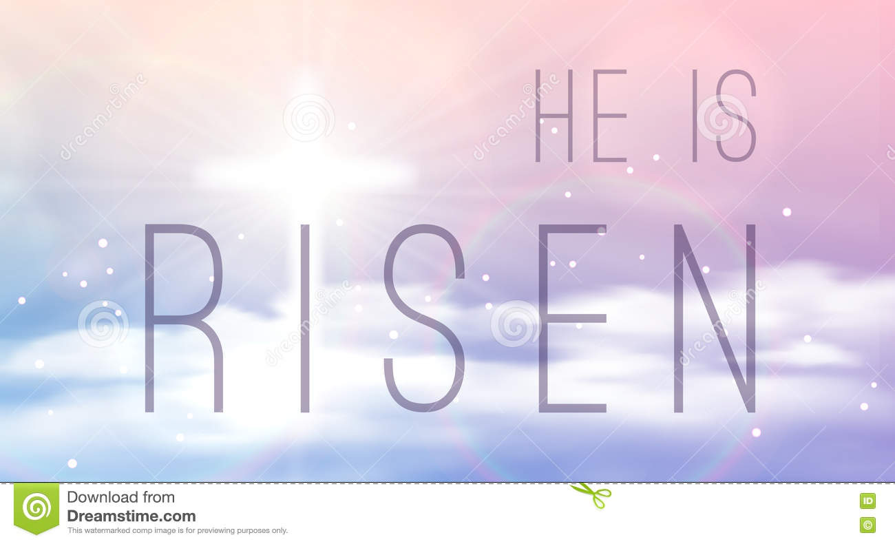 easter banner with text