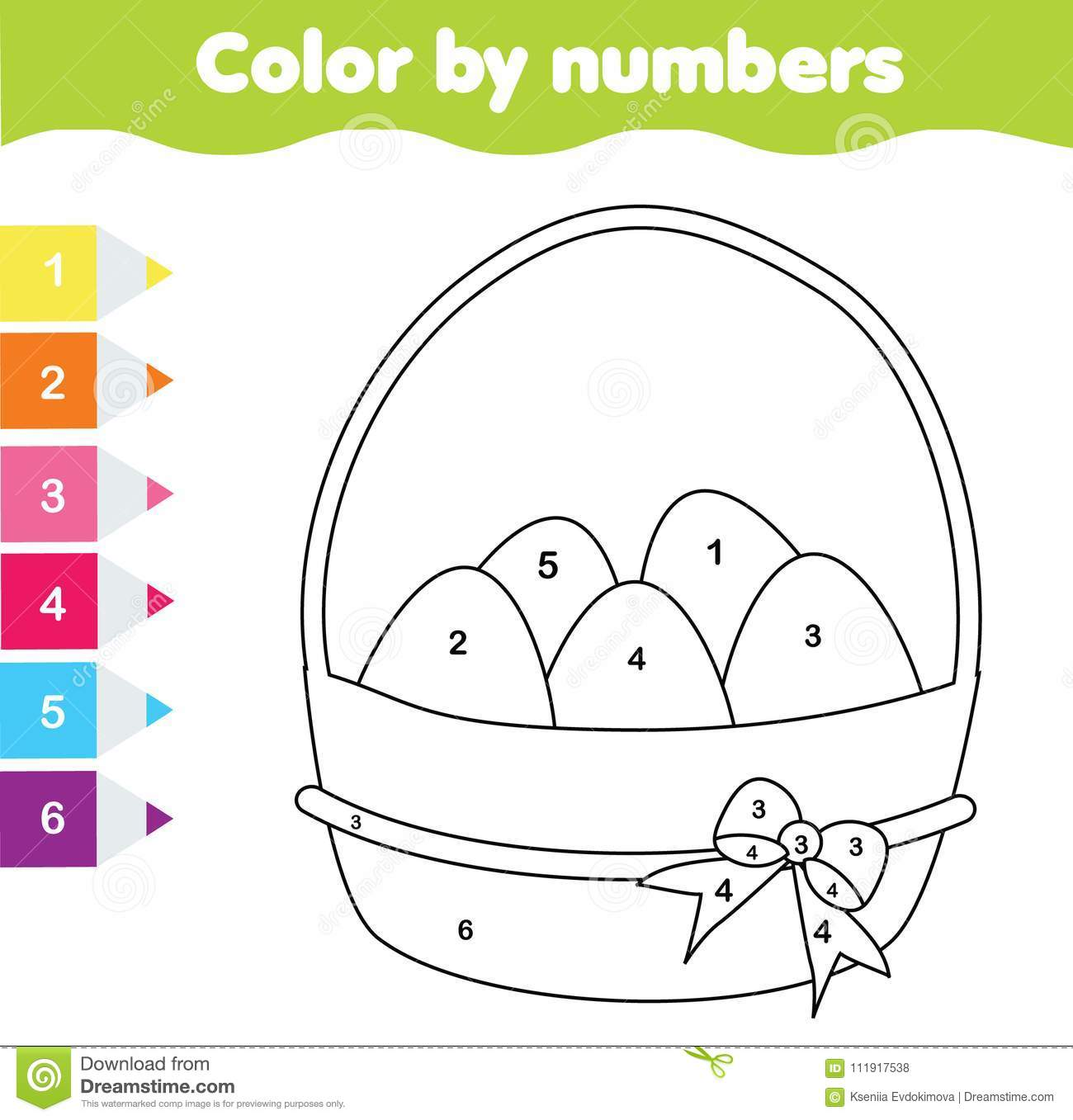 Easter Preschool Worksheet More Or Less