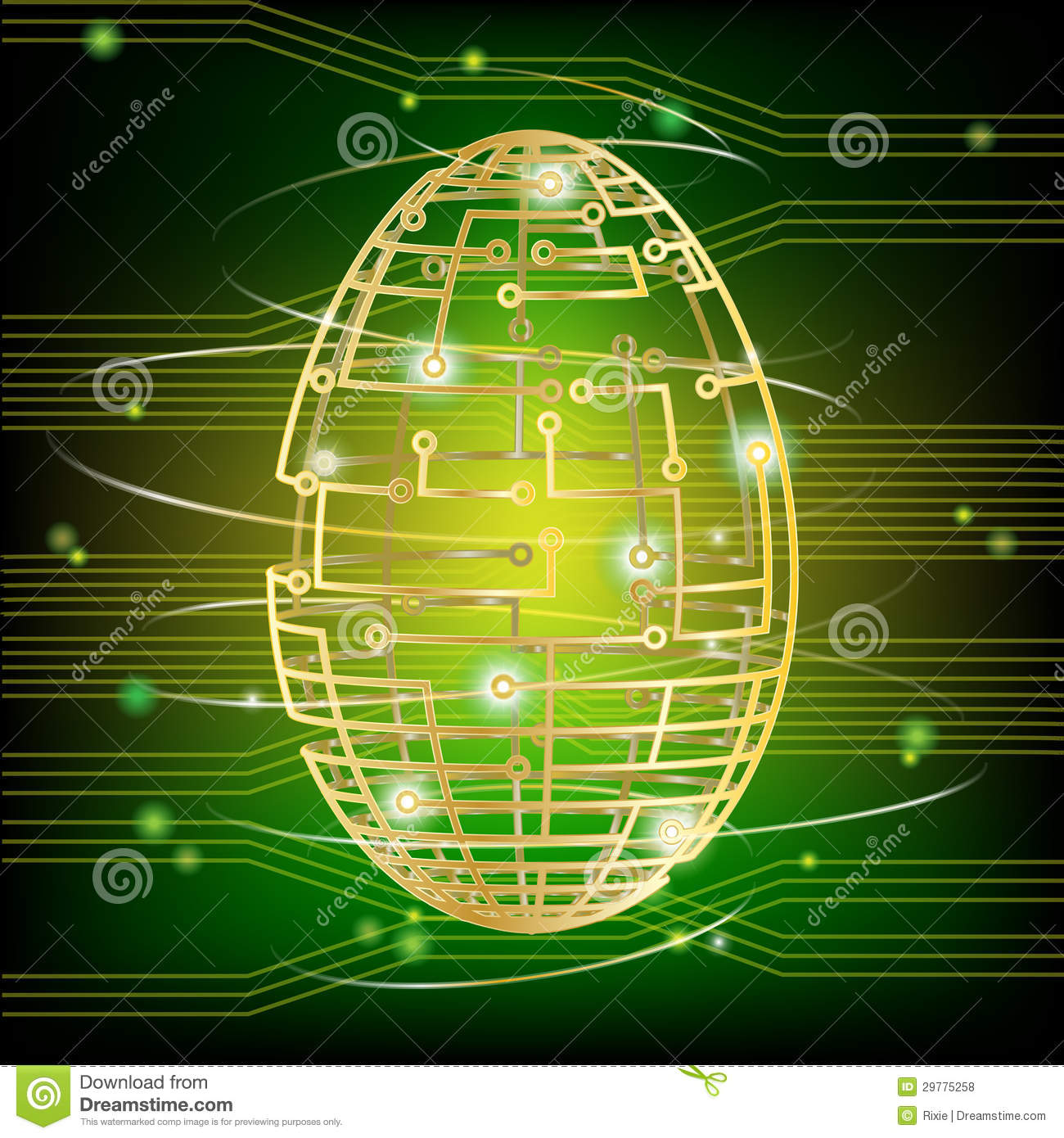 Circuit Board Design Clipart Circuit Board Design Over Gray