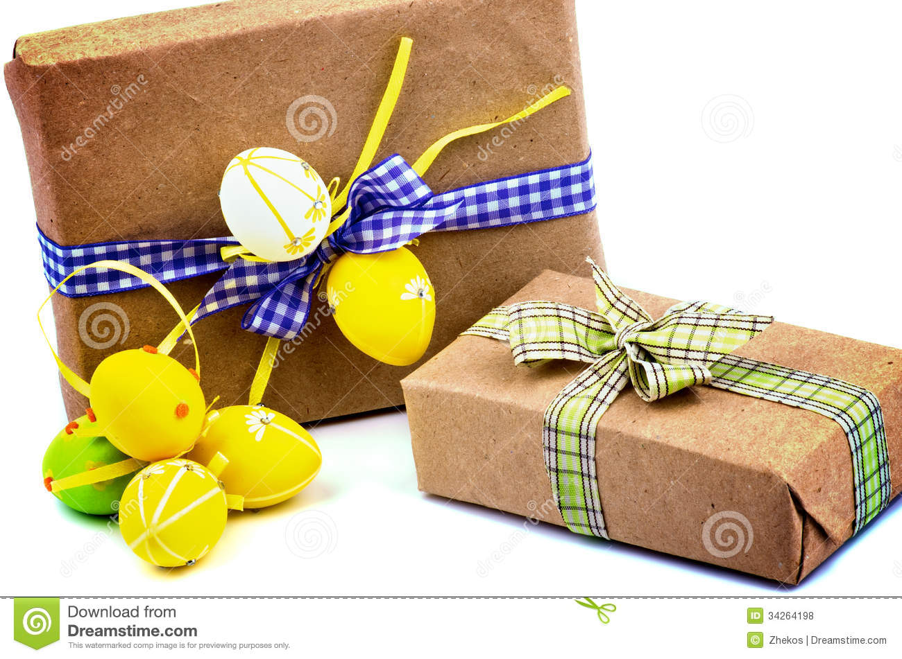 Easter Gifts Royalty Free Stock Photos Image 34264198