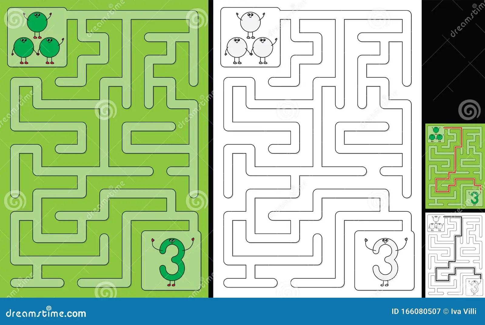 Easy Number Maze