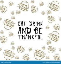 Food Background Burgers Hand Drawn Illustration For Your Design Stock Vector Illustration of decoration element: 129168540