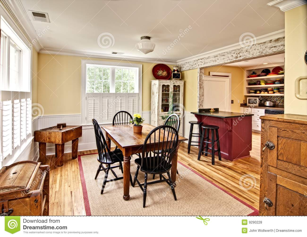 Eclectic Dining Room Royalty Free Stock Photos  Image 9290228