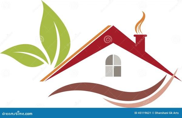Eco Home Logo Stock Vector - 45119621