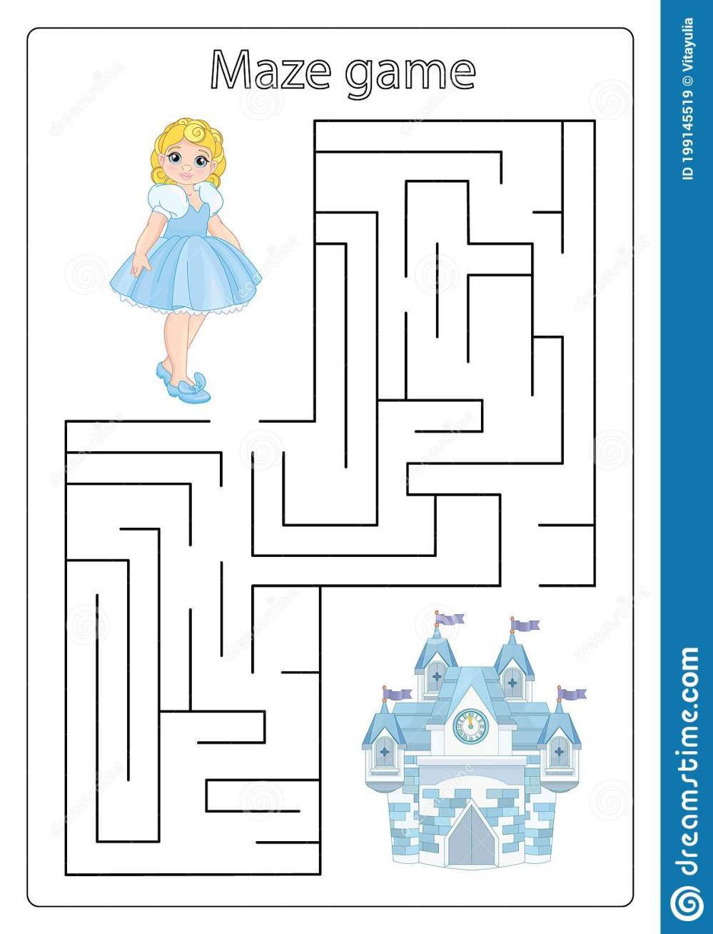 medium resolution of Worksheets Number Maze   Printable Worksheets and Activities for Teachers