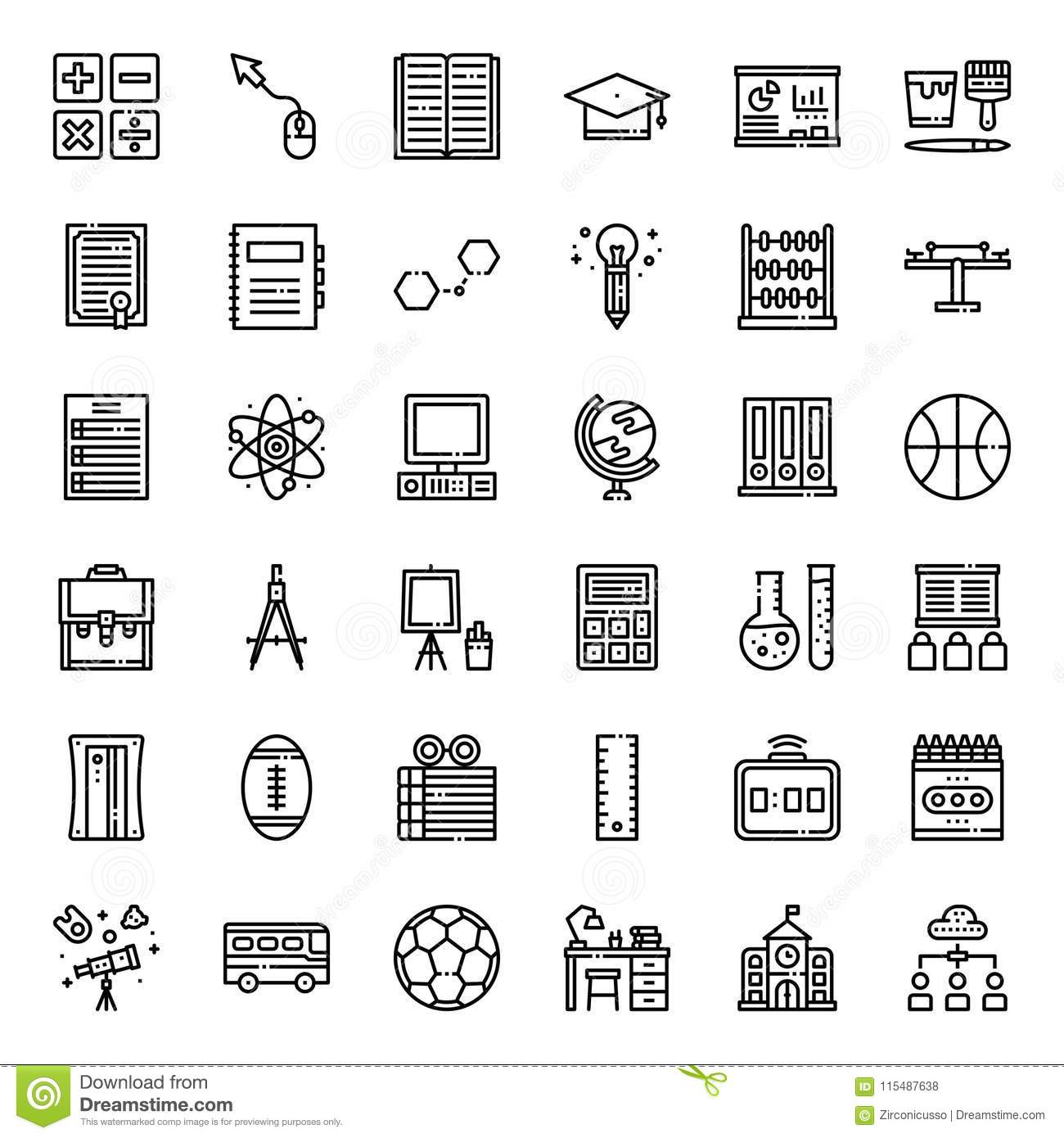Education stock vector. Illustration of icon, certificate