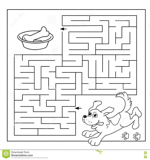 maze coloring pages # 20