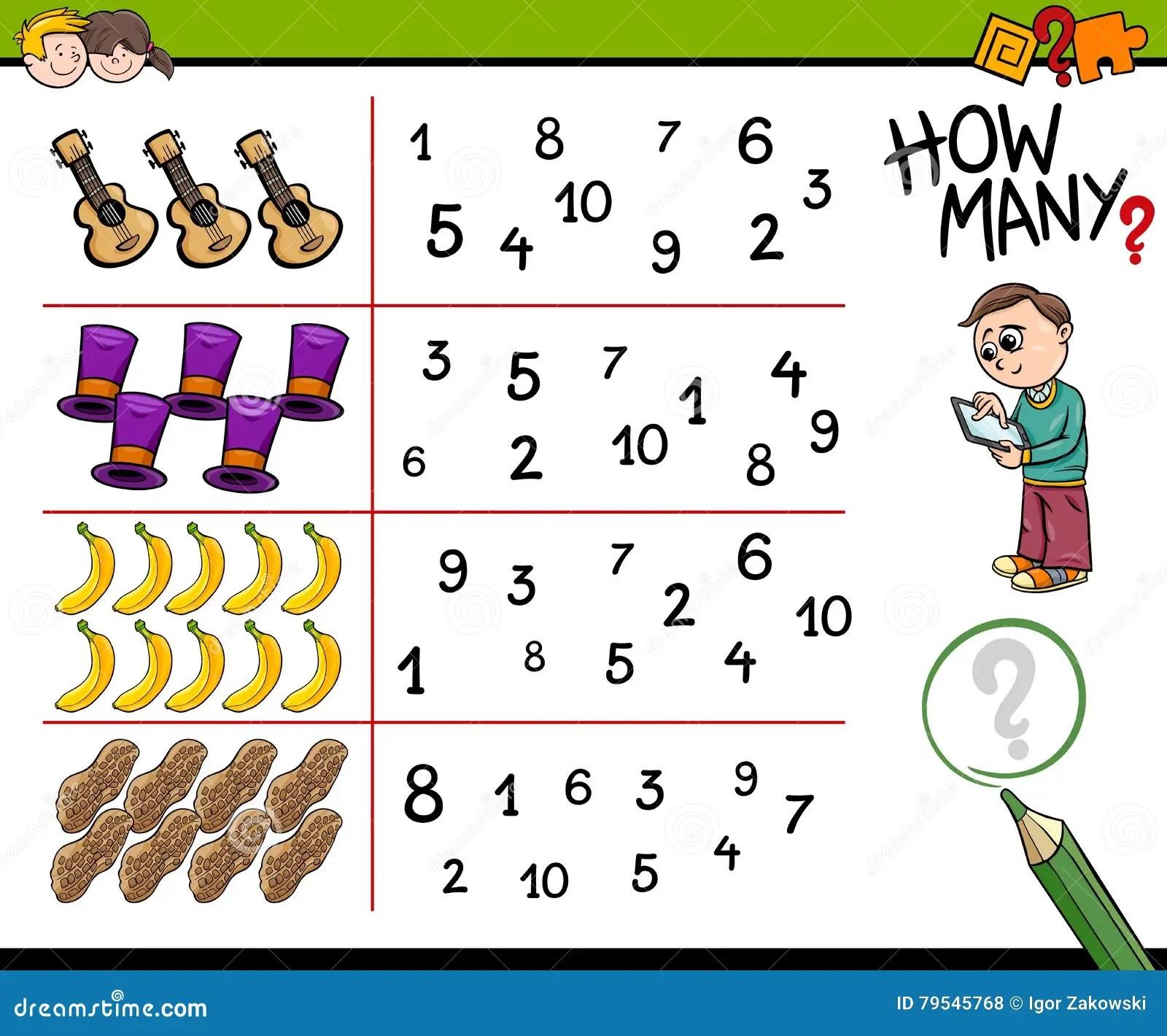 Usage Calculator Worksheet 8 Math