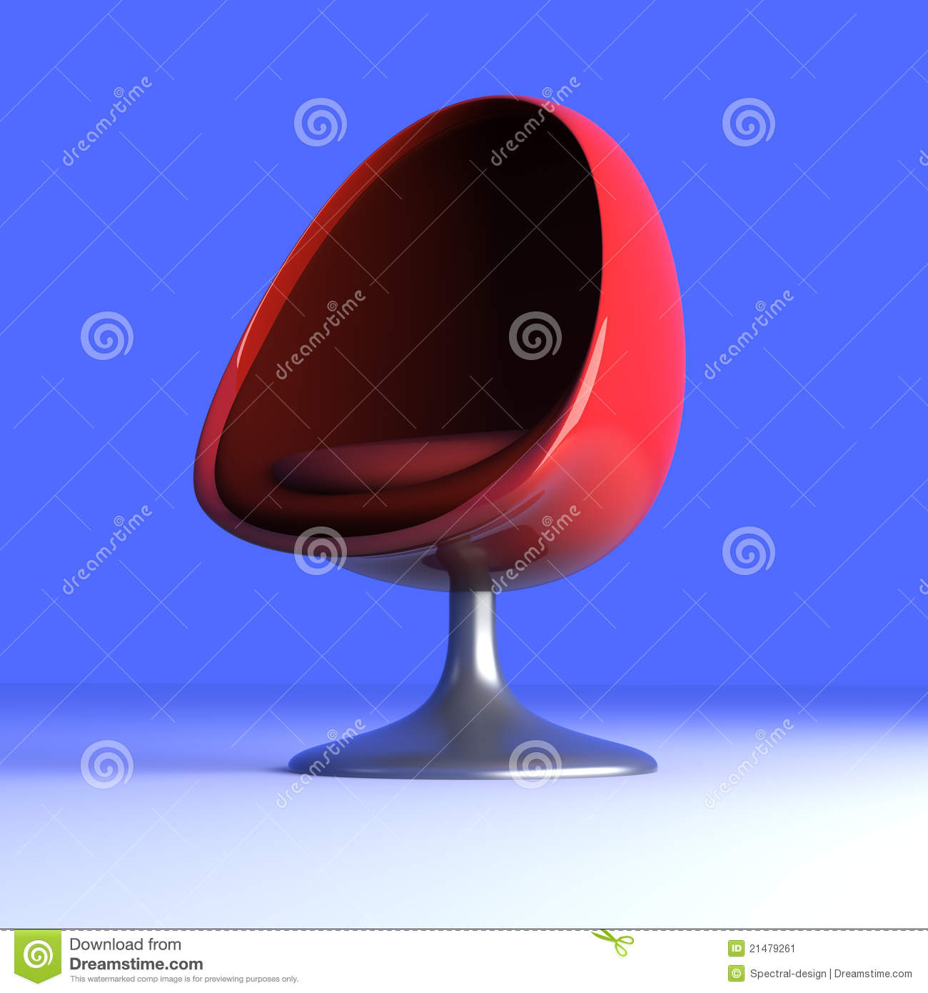 Egg Chair With Speakers Eggchair Immagine Stock Immagine 21479261