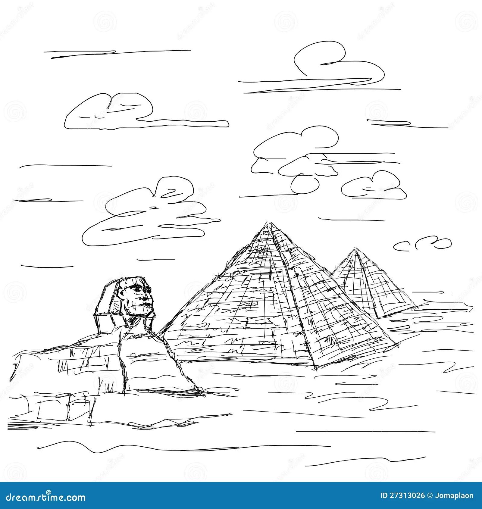 Egypt Pyramid Royalty Free Stock Image