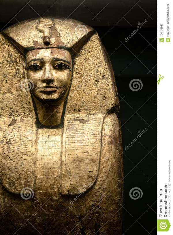 Egyptian Pharaohs Sarcophagus Louvre Museum Editorial - Of Figures Egypt