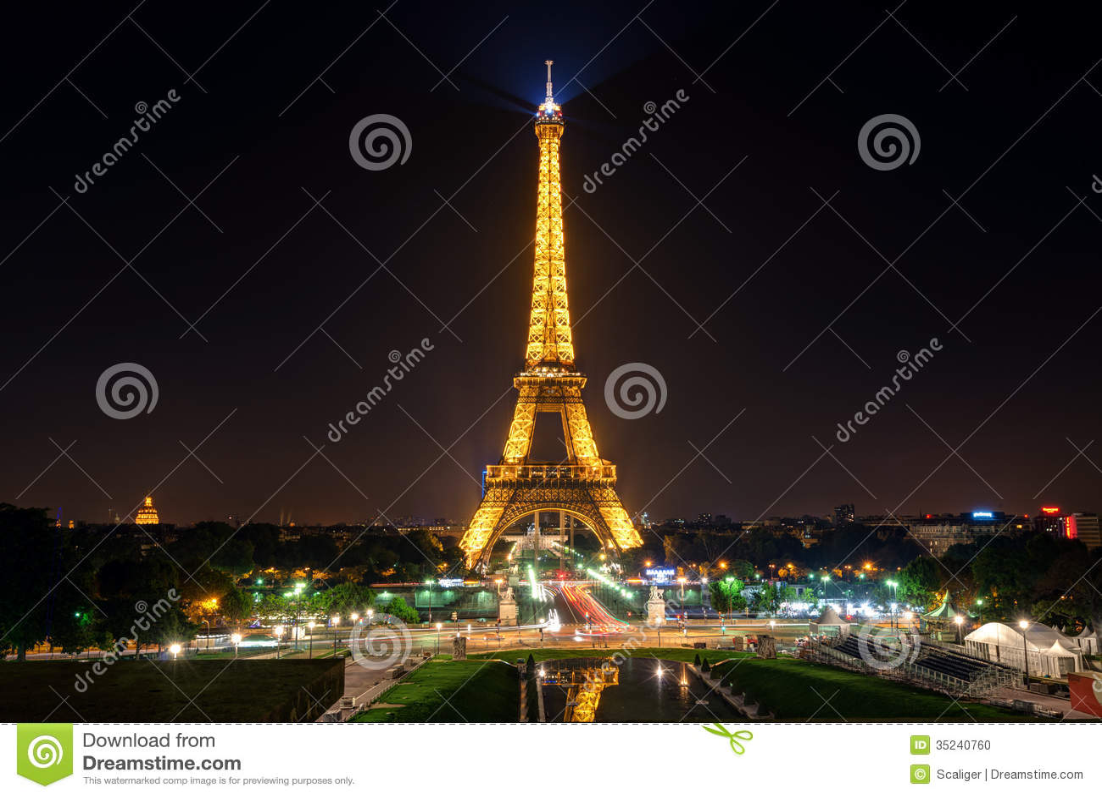 Fajarv Paris At Night Attractions