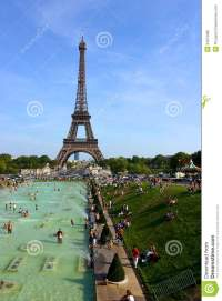 Eiffel Tower in Paris editorial image. Image of france ...