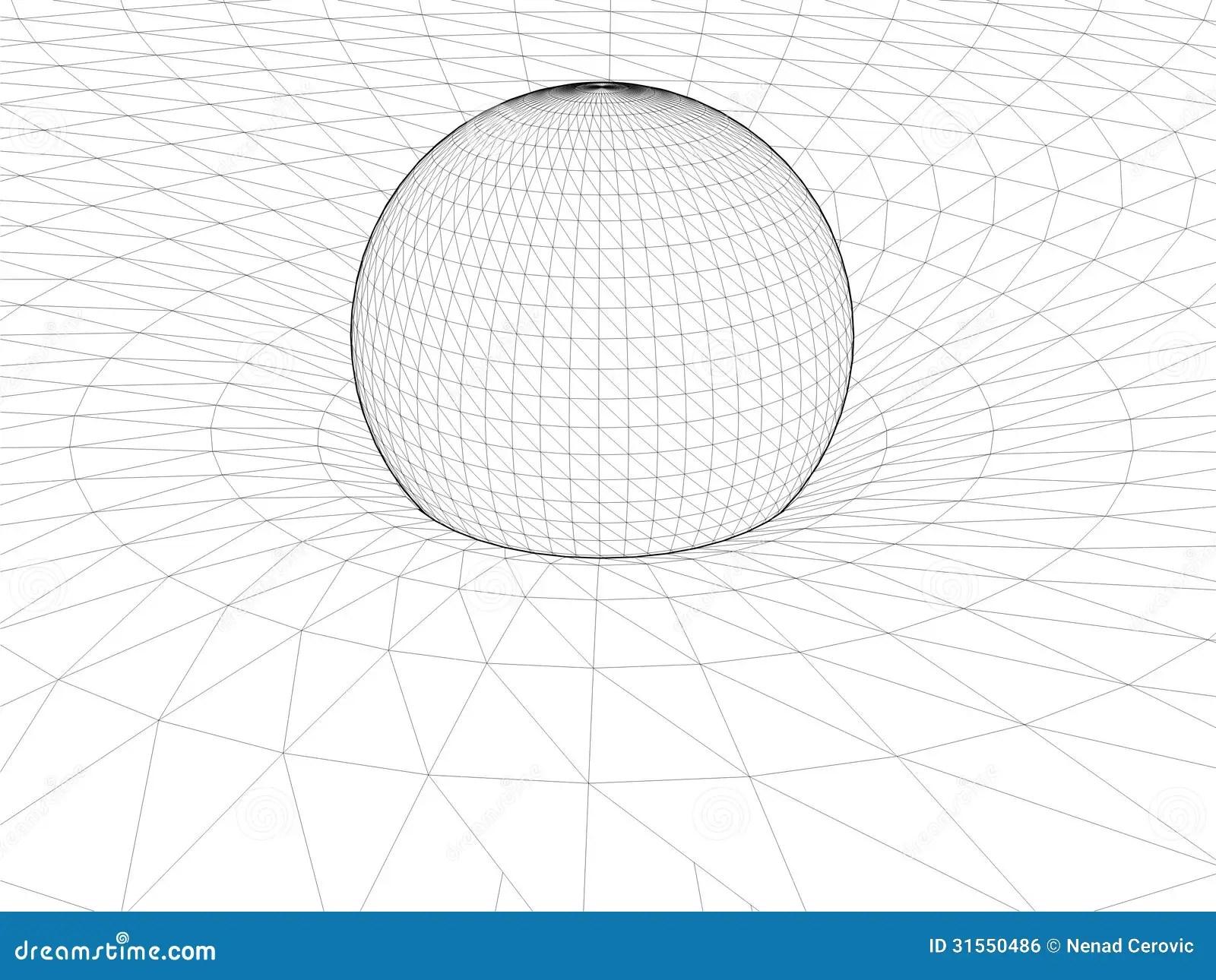 Einstein's Wire Net General Theory Of Relativity Structure