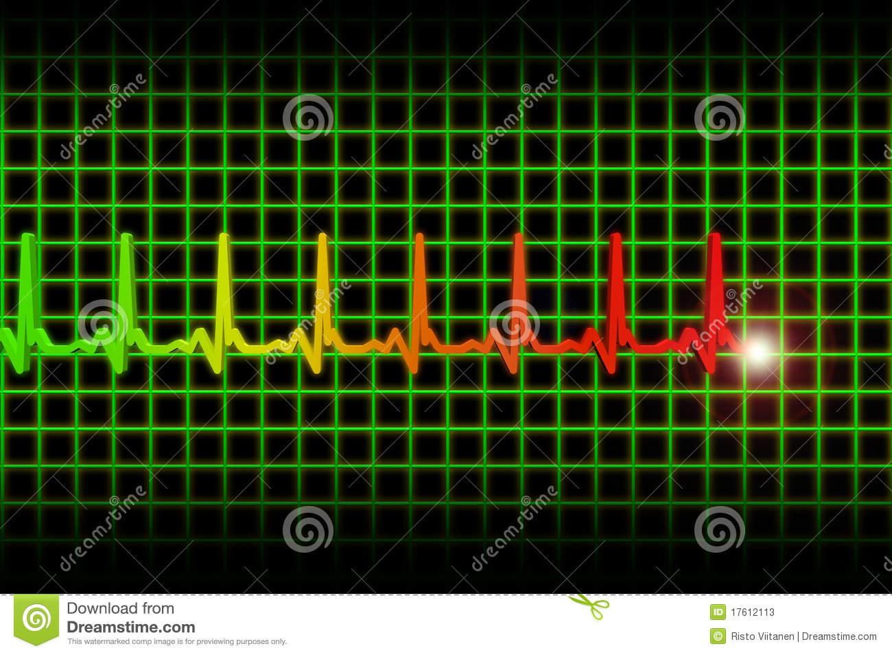 heart beat diagram 2009 ford ranger wiring ekg ecg pulse header stock illustration