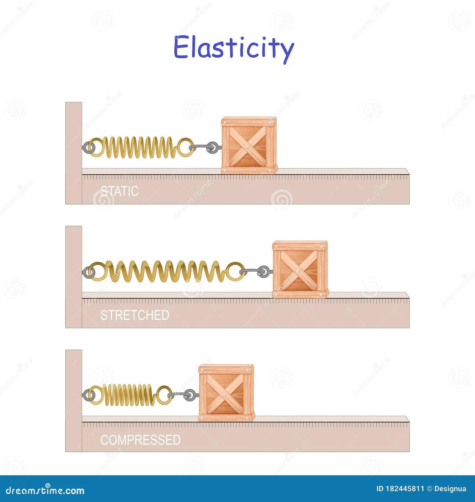 Elastic Potential Energy Elasticity Hooke S Law