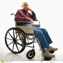 Wheelchair Man Ikea Stool Chair Hack Elderly In Stock Photos Image 2046813