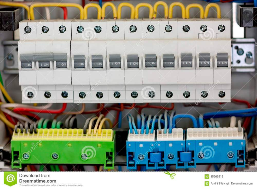 medium resolution of electical distribution fuseboard electrical supplies electrical panel at a assembly line factory controls and switches