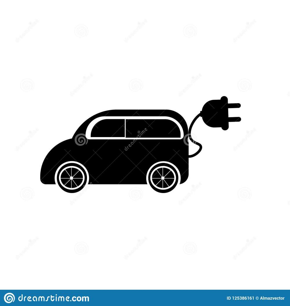 medium resolution of electric car icon vector isolated on white background for your web and mobile app design electric car logo concept