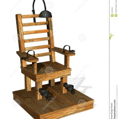 Execution By Electric Chair Cheap Folding Tables And Chairs Stock Illustration Of Execute