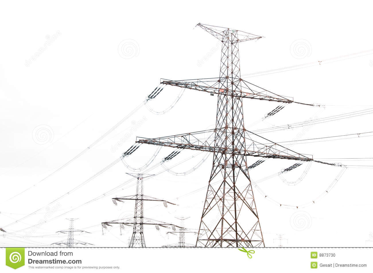 Electric Pole Stock Photo Image Of Industrial Engineer