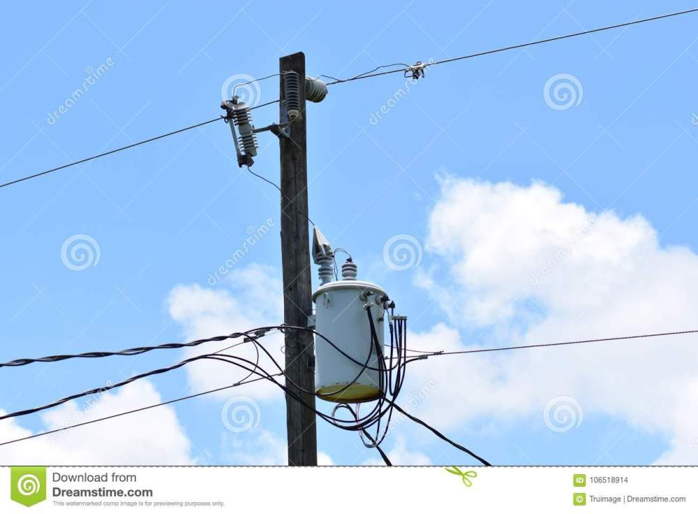 medium resolution of electric pole wires and transformer