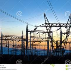 And Electric Dodge Ram Trailer Plug Wiring Diagram Power Station Stock Photography Image 22676552