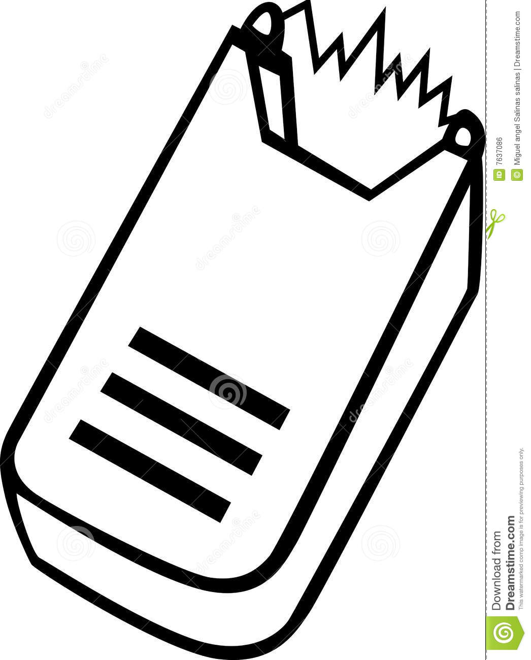 Electric Stun Gun Vector Illustration Royalty Free Stock
