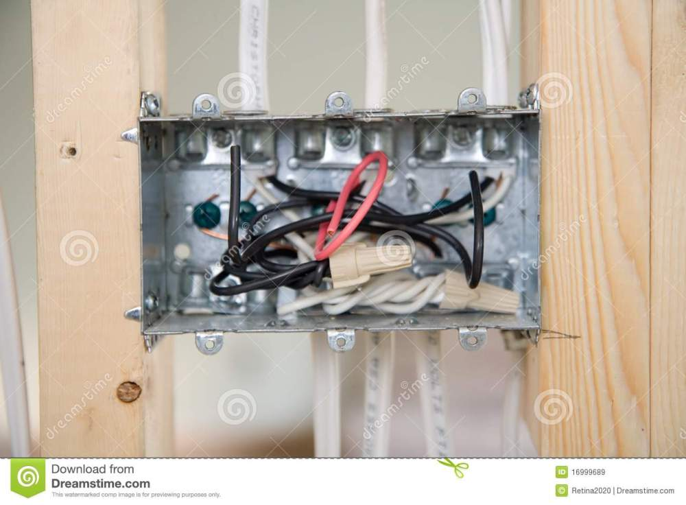 medium resolution of electrical box with wiring