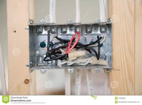small resolution of electrical box with wiring