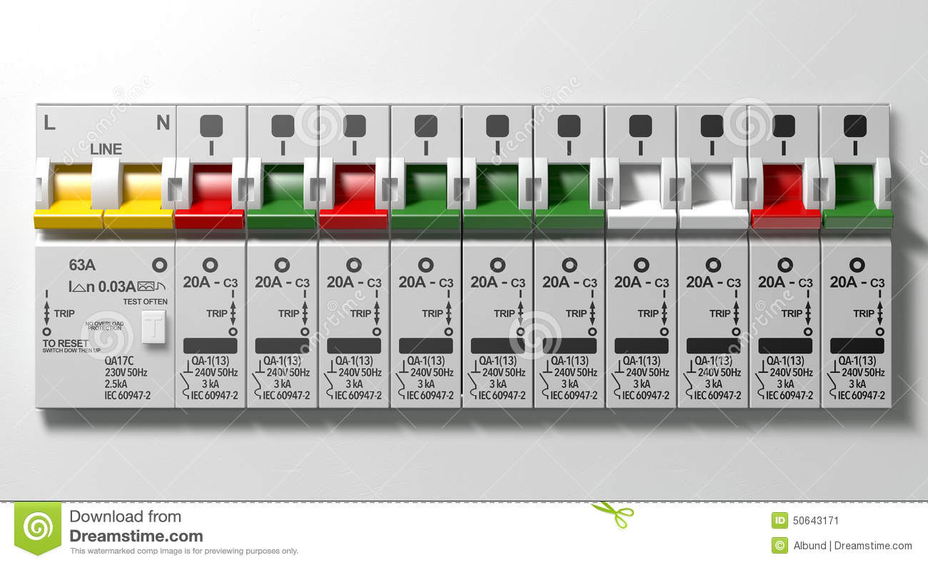 hight resolution of electrical circuit breaker panel