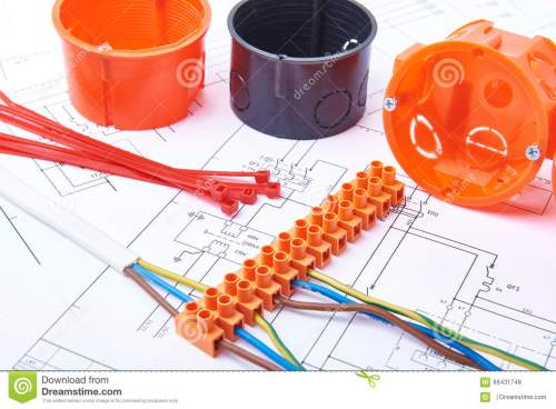 small resolution of electrical connectors with wires junction box and different materials used for jobs in electricity many tools lying on diagrams