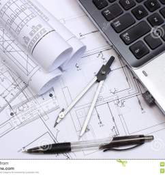 rolls of electrical diagrams construction drawings of house accessories for drawing and laptop drawings and accessories for the projects engineer jobs [ 1300 x 939 Pixel ]