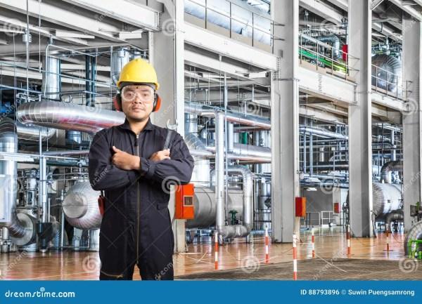 Electrical Engineer Working