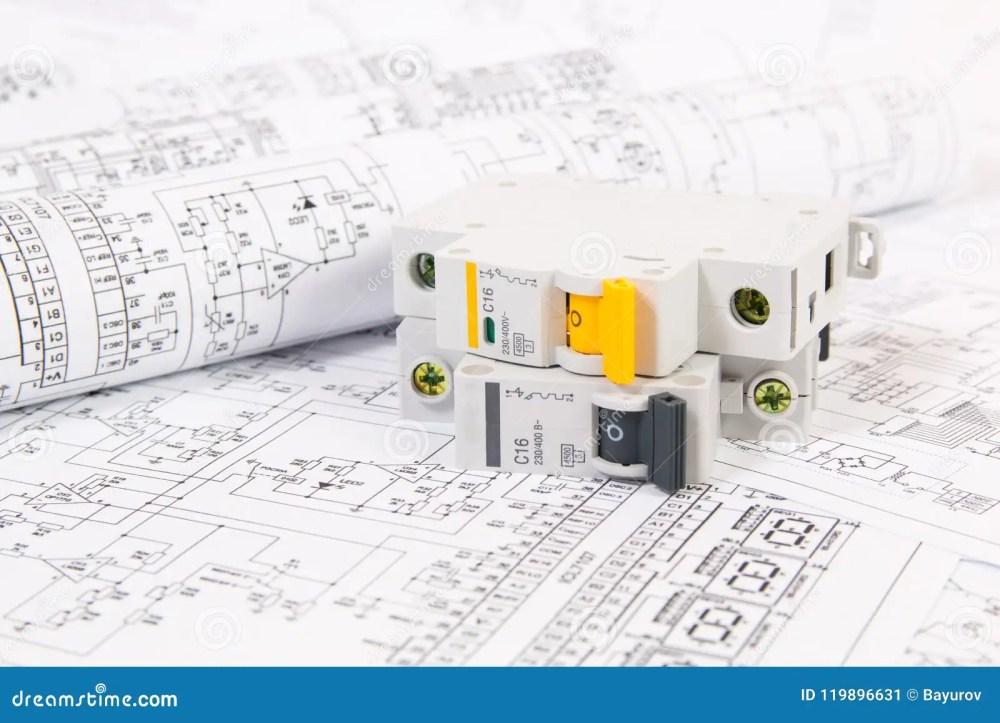 medium resolution of electrical engineering drawings and modular circuit breaker