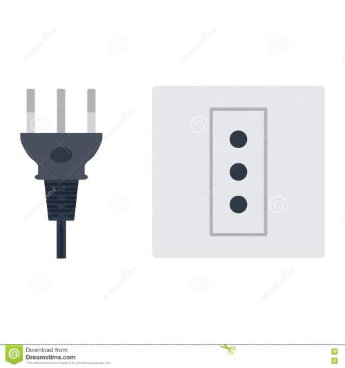 small resolution of electric outlet illustration on white background energy socket electrical outlet plug appliance interior icon wire cable cord connection electrical outlet