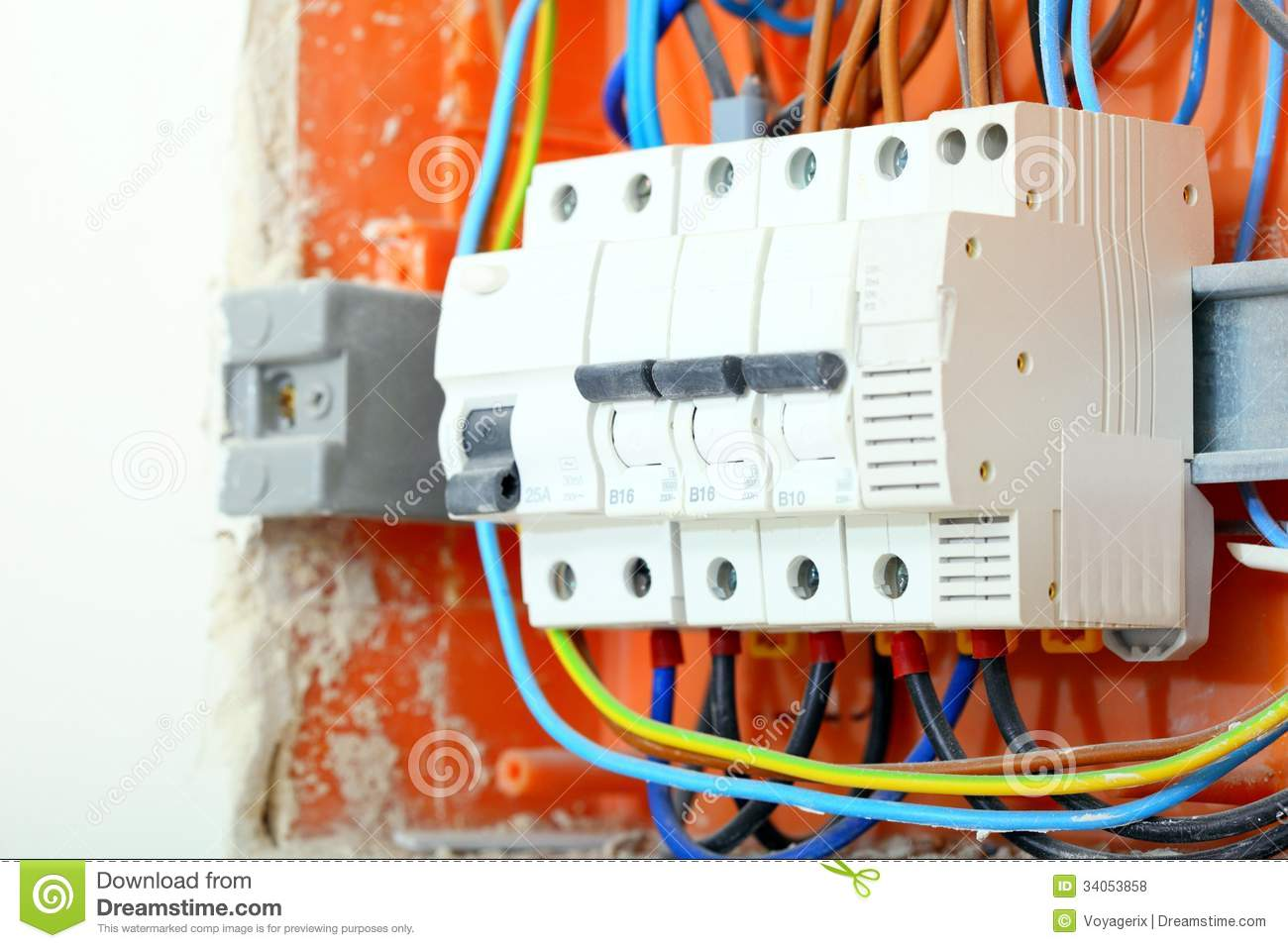 hight resolution of electrical panel box with fuses and contactors