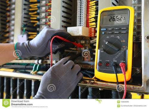 small resolution of electrical terminal in junction box and service by technician electrical device install in control panel