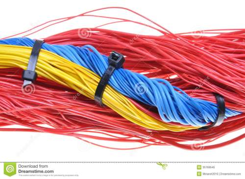 small resolution of electrical wires with cable ties