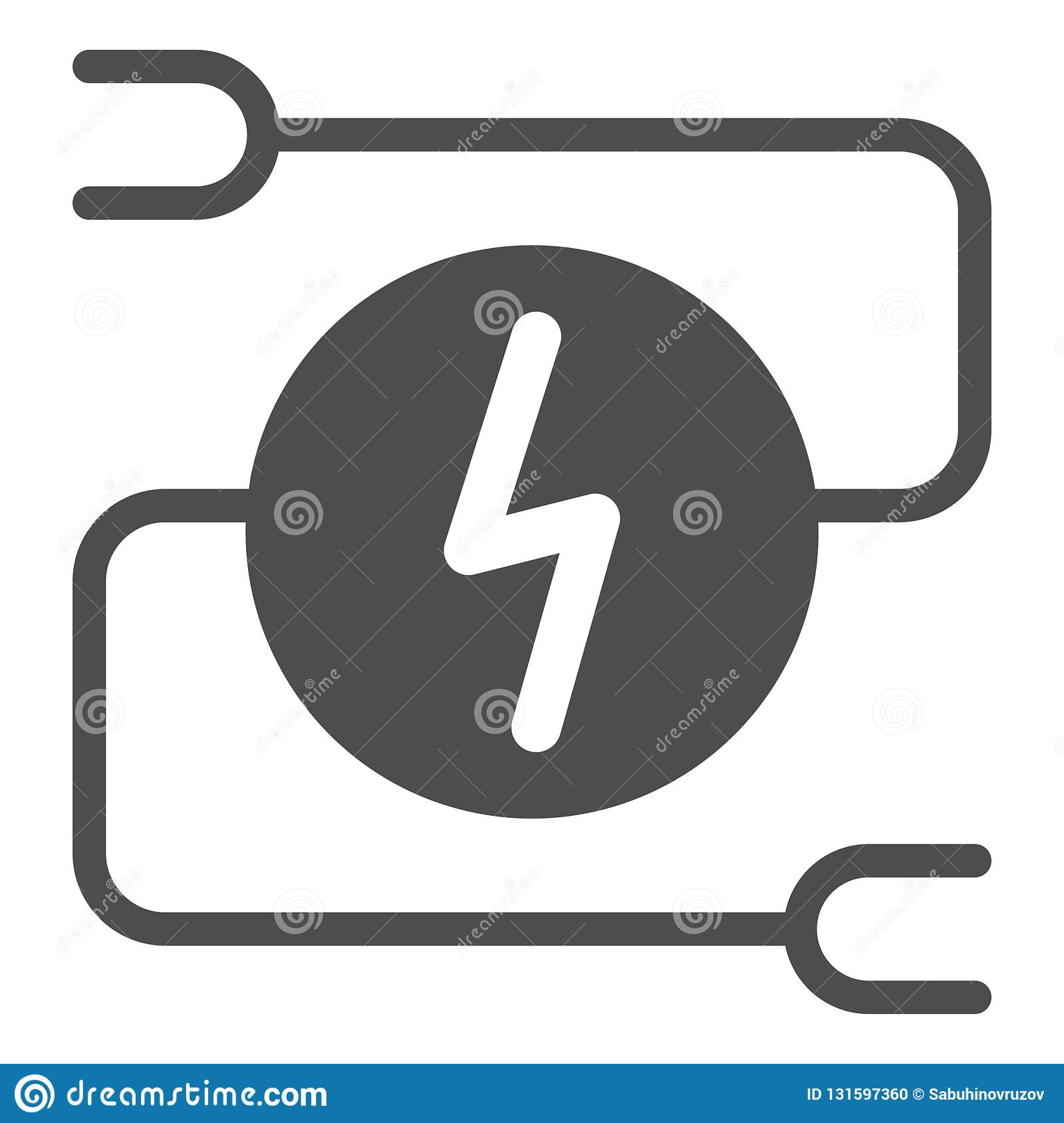 hight resolution of electrical wiring solid icon car adapter vector illustration isolated on white automobile cable glyph