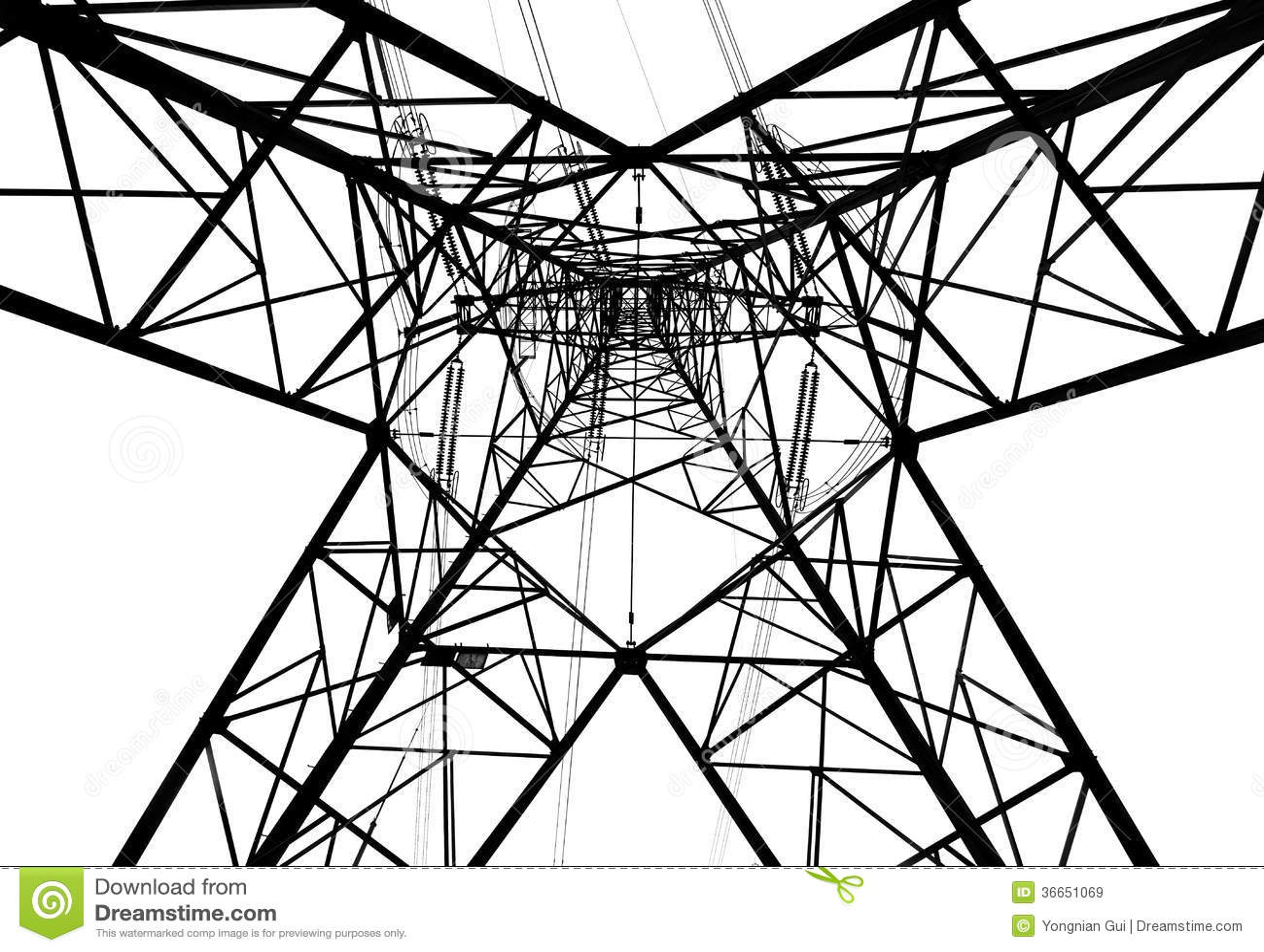 Electricity Pylon Stock Image Image Of Distribution