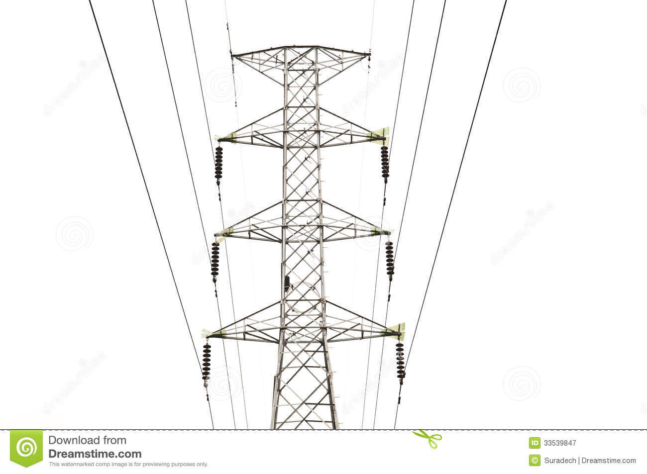 Electricity Pylon Stock Image Image Of Grid Industry