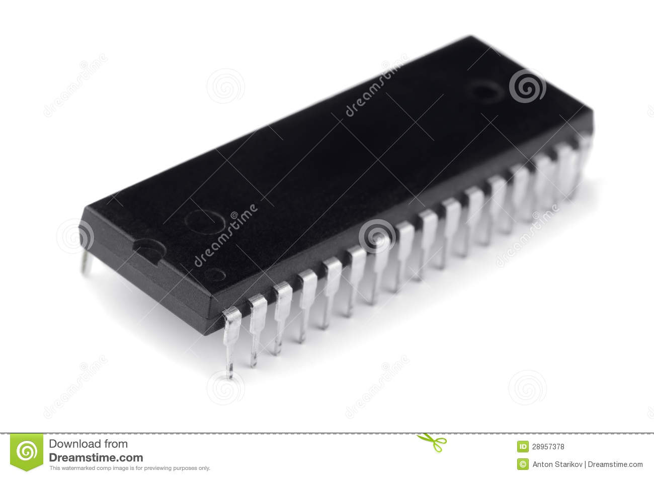 Electronic Chip Royalty Free Stock Photos Image 28957378