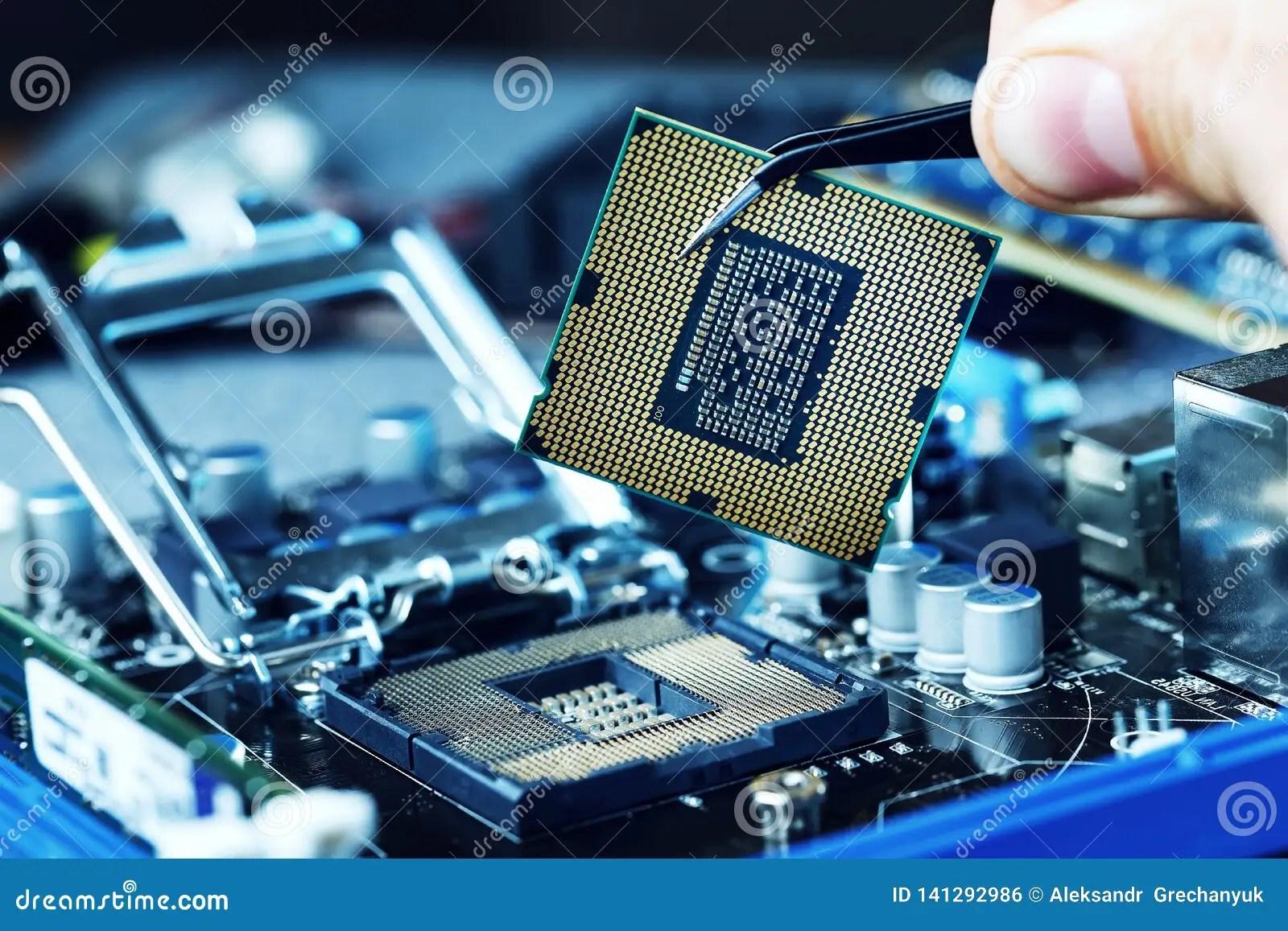 electronic engineer of computer