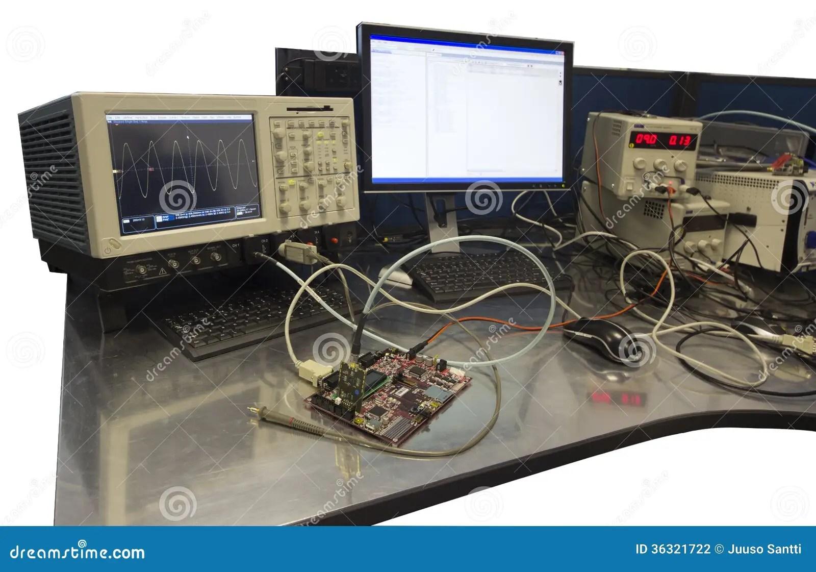 Electronic Engineer Workbench Stock Photography  Image 36321722