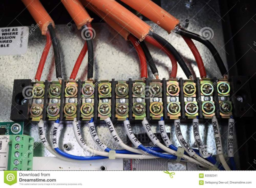 medium resolution of electronic safety box wire cable fuse control