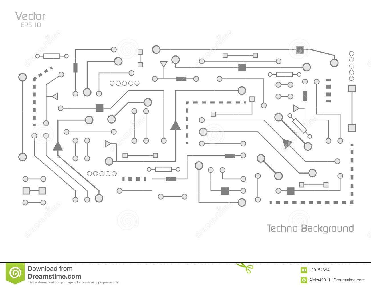 hight resolution of electronics background with circuit diagrams